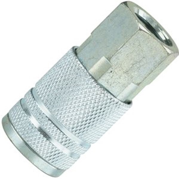 1/4 STEEL FEMALE COUPLER