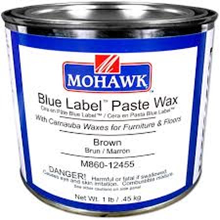 BROWN BLUE LABEL PASTE WAX