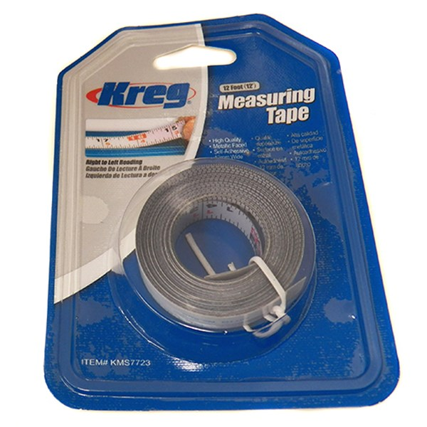 12' R/L Reading Measure Tape (KMS7723)
