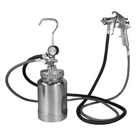 2QR PRESSURE POT W/GUN AND HOSE