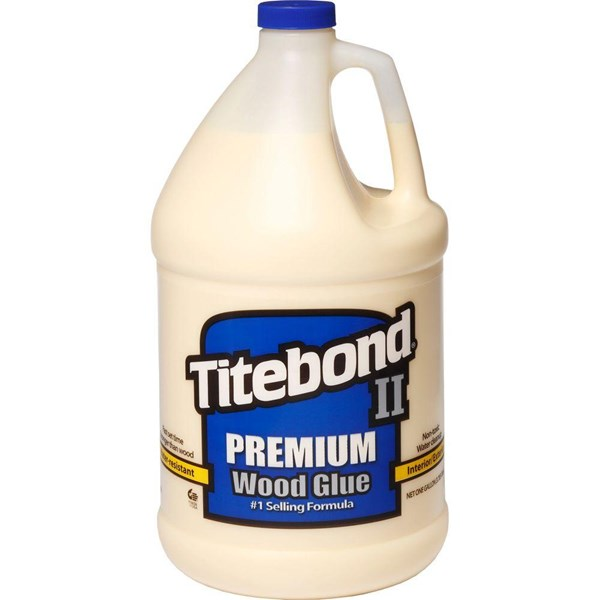 G. TITEBOND II PREMIUM WOOD GLUE