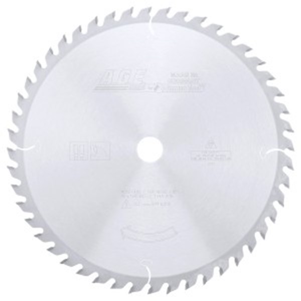 CARBIDE TIPPED GENERAL PURPOSE 12 INCH DIA x 48T ATB, 15 DEG, 1 INCH BORE CIRCULAR SAW BLADE